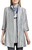 Eileen Fisher Washable Crinkle Sheen Jacket, Petite