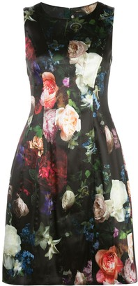 ADAM by Adam Lippes floral print flared dress