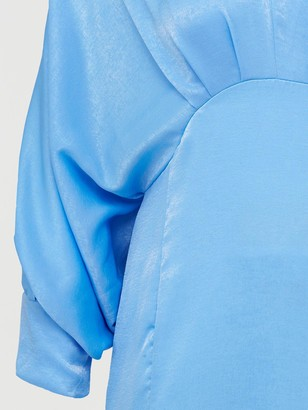 AX Paris Batwing Dress - Blue