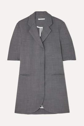 Georgia Alice Woven Mini Dress - Gray