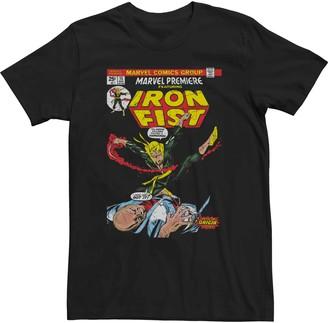Iron Fist Men's Marvel Vintage Tee