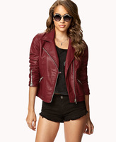 Forever 21 Secret Rebel Moto Jacket