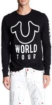 True Religion Long Sleeve World Tour Tee