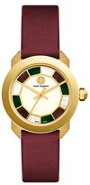 Tory Burch Women's Whitney Leather Strap Watch, 35Mm