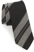 Alexander Olch Men's Stripe Linen Tie