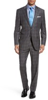Peter Millar Men's Flynn Classic Fit Plaid Wool Suit