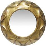 Infinity Instruments Vigil 20 Inch Antique Gold Decorative Wall Mirror