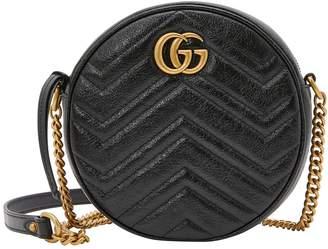 Gucci GG Marmont round cross body bag