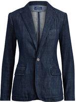 Polo Ralph Lauren Single-Button Denim Blazer