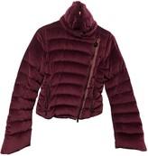 Fay Purple Velvet Jacket for Women