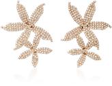 Jennifer Behr Rose Gold-Plated Swarovski Crystal Earrings