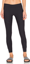 So Low SOLOW Convergent Zip Legging