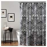 Lush Decor Aubree Shower Curtain Black/ White