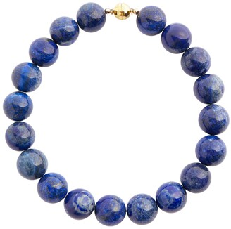 Sophie Buhai Perriand lapis and 18kt gold choker