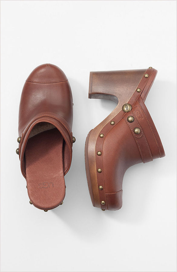 UGG studded clogs