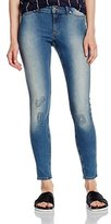 Cheap Monday Women's Mid Rise Spray Skinny Jeans
