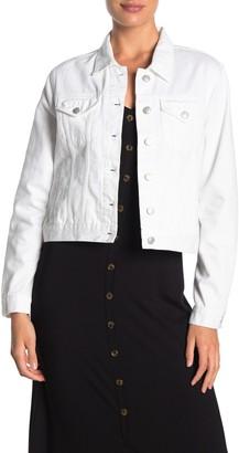 Vigoss White Denim Jacket