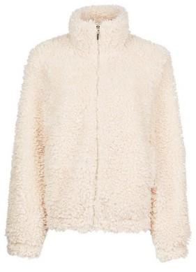 Dorothy Perkins Womens Tall Cream Short Teddy Coat, Cream