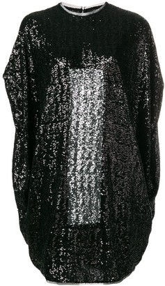 Gianluca Capannolo Short Sequined Dress