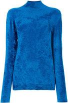 Marni chenille turtle neck sweater