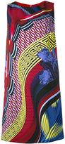 Versace patterned shift dress - women - Viscose/Acetate/Silk - 40