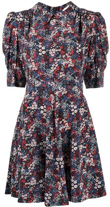 See by Chloe Floral Print Mini Dress