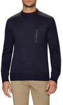 Prada Wool Patch Pocket Ribbed Sweater
