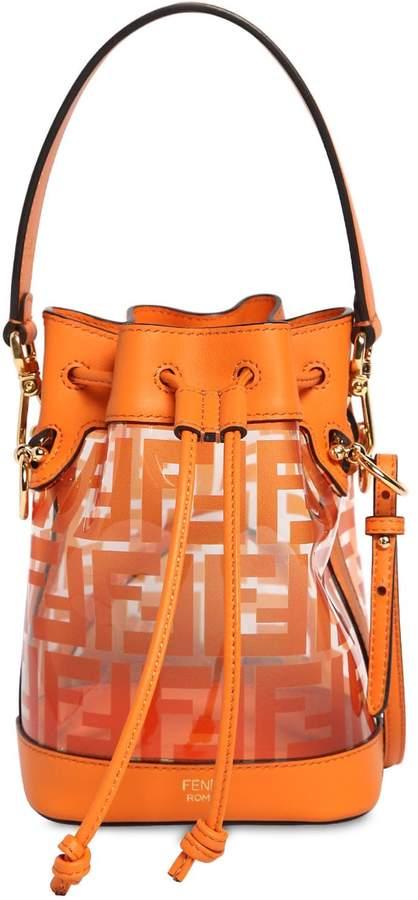 Fendi Mini Mon Trésor Leather & Pvc Bag