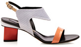 Nicholas Kirkwood Preorder Orange/Cream Sandal