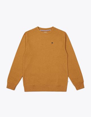 Wemoto Mustard Clove Crewneck Sweatshirt - S | mustard - Mustard