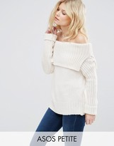 Asos Sweater with Off Shoulder Detail