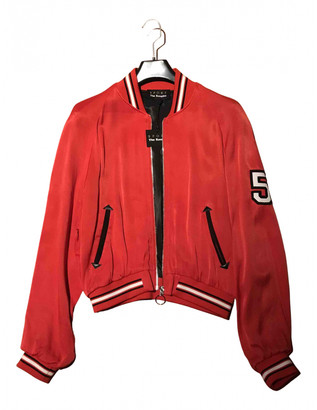 The Kooples Red Viscose Leather jackets