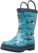 Hatley Little Boys Great White Sharks Rain Boots