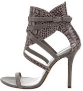 Camilla Skovgaard Embossed Leather Multistrap Sandals