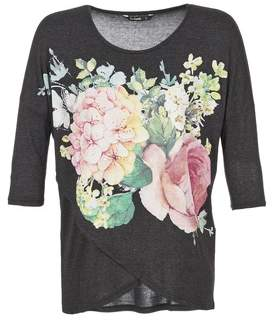 Desigual T women's Long Sleeve T-shirt in Black