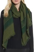Eileen Fisher Women's Stripe Wool Scarf