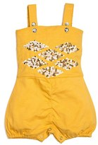 Infant Girl's Masalababy 'Grace' Sequin Embellished Bubble Romper