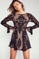 For Love & Lemons Temecula Mini Dress by at Free People