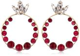 Anton Heunis Amazonia Quartz Hoop Earrings