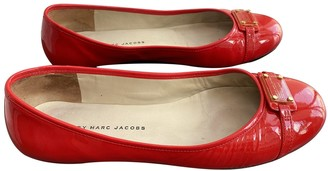 Marc by Marc Jacobs Red Patent leather Ballet flats