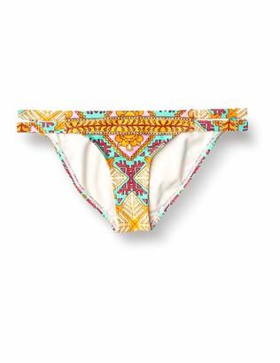 Eidon Women's Madiera Rider Low Rise Full Coverage Bikini Bottom