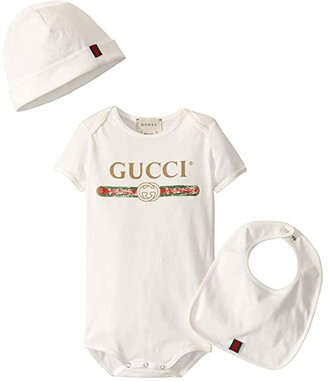 Gucci Kids Gift Set 516326X9U05 (Infant) (White/Green/Red) Kid's Active Sets
