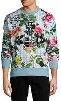 Vivienne Westwood Floral Print Crewneck Sweatshirt