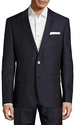 HUGO BOSS Hutson Solid Wool Jacket