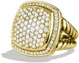 David Yurman Albion Ring with Diamonds in Gold