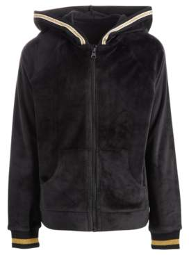 Ideology Toddler Girls Velour Zip-Up Hoodie, Created for Macy's