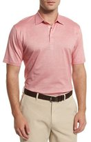 Peter Millar Take Five Short-Sleeve Pique Polo Shirt, Summer Coral