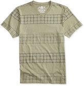 American Rag Men's Plaid Stripe T-Shirt, Only at Macy's