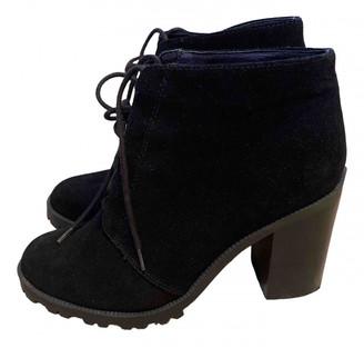 John Rocha Black Suede Boots