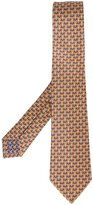 Bulgari witch spider print neck tie